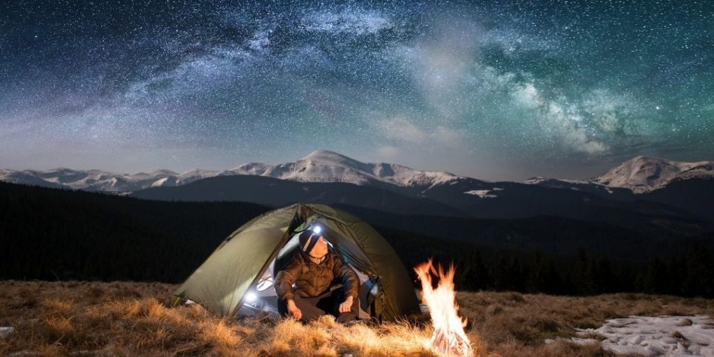 The Best, Brightest and Ultralight Headlamp for Backpacking